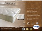 DUNLOPILLO MATTRESS - AUDREY